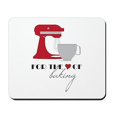 Love Of Baking Mousepad