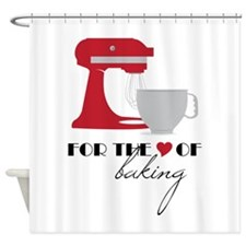 Love Of Baking Shower Curtain