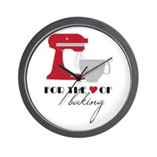 Love Of Baking Wall Clock