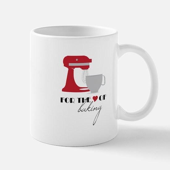 Love Of Baking Mugs