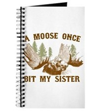 A Moose Once Bit My Sister Journal
