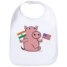 USA AND INDIA Bib