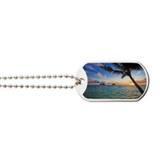 pacific sunrise at lanikai hawaii Dog Tags