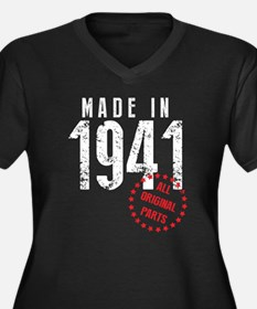 Made In 1941, All Original Parts Plus Size T-Shirt