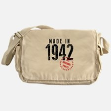 Made In 1942, All Original Parts Messenger Bag
