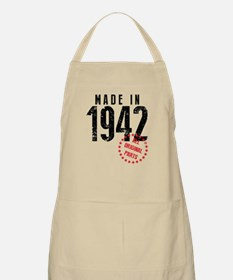 Made In 1942, All Original Parts Apron