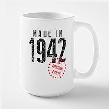 Made In 1942, All Original Parts Mugs