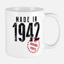 Made In 1942, All Original Parts Mugs