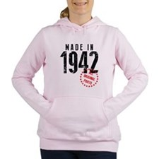 Made In 1942, All Original Parts Women's Hooded Sw