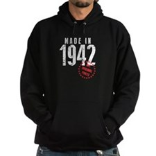Made In 1942, All Original Parts Hoodie