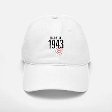 Made In 1943, All Original Parts Baseball Baseball Baseball Cap