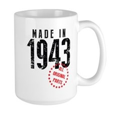 Made In 1943, All Original Parts Mugs