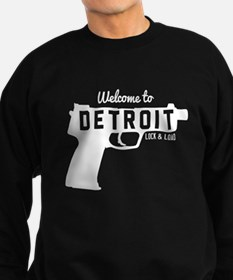 Welcome to Detroit lock and load Sweatshirt
