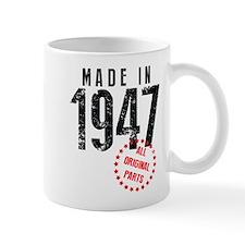 Made In 1947, All Original Parts Mugs