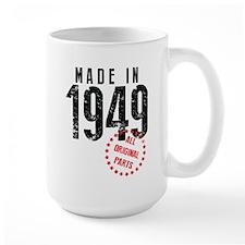 Made In 1949, All Original Parts Mugs