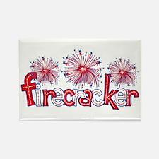 Firecracker Rectangle Magnet