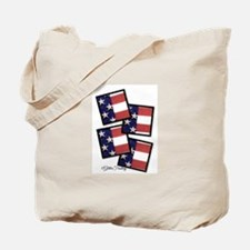 Old Glory USA Tote Bag
