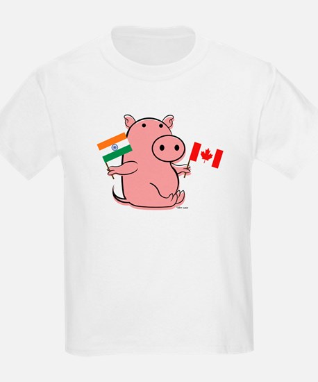CANADA AND INDIA T-Shirt