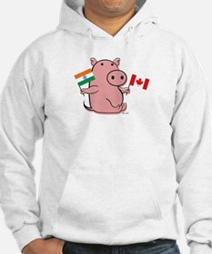CANADA AND INDIA Hoodie