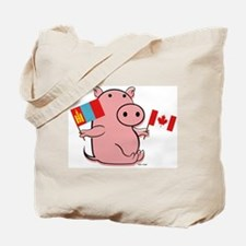 CANADA AND MONGOLIA Tote Bag