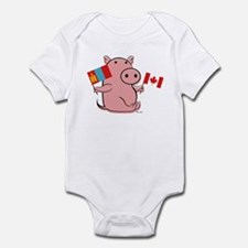 CANADA AND MONGOLIA Infant Bodysuit