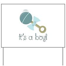 Its A Boy! Yard Sign