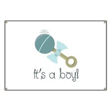 Its A Boy! Banner