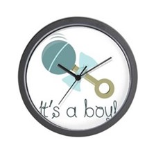 Its A Boy! Wall Clock