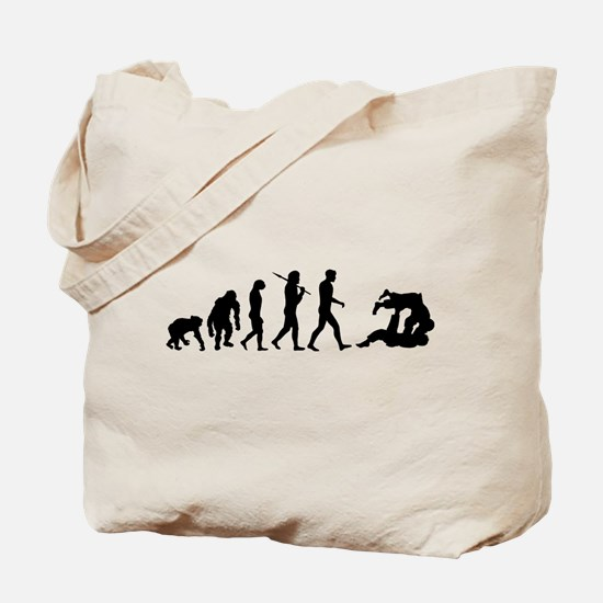 Evolution of Judo Tote Bag