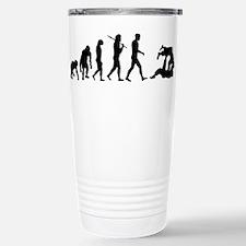 Evolution of Judo Stainless Steel Travel Mug