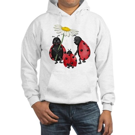 Ladybug Stroll Hooded Sweatshirt