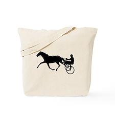 Harness Racing Tote Bag