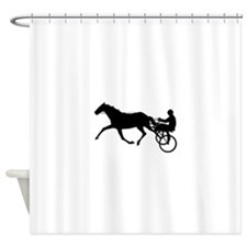 Harness Racing Shower Curtain