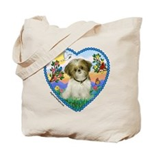 Shih Tzu in my heart (P) Tote Bag