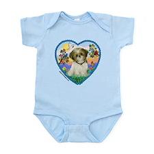 Shih Tzu in my heart (P) Infant Bodysuit