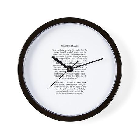 St. Jude Wall Clock