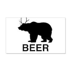 Beer Bear Wall Decal