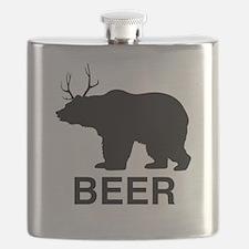 Beer Bear Flask