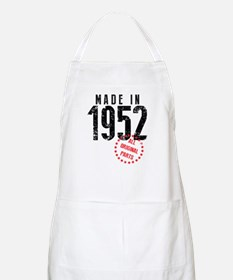 Made In 1952, All Original Parts Apron