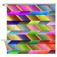 Cool Optical illusion Shower Curtain