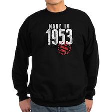 Made In 1953, All Original Parts Sweatshirt