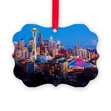 Seattle downtown Ornament
