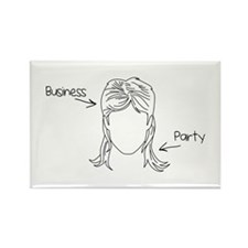 Business Party Mullet Magnets