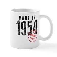 Made In 1954, All Original Parts Mugs