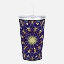 Blue Gold, Design by CGB Digital Art 1 Acrylic Dou