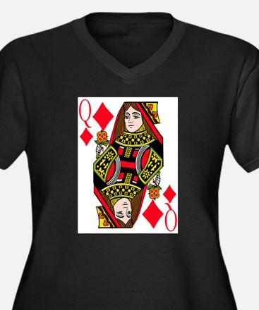 Queen of Diamonds Plus Size T-Shirt