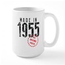 Made In 1955, All Original Parts Mugs