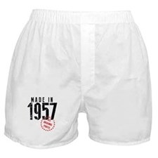 Made In 1957, All Original Parts Boxer Shorts