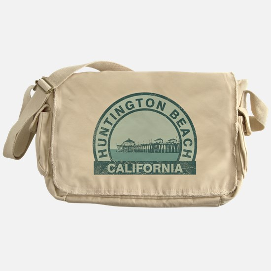 Huntington Beach, CA Messenger Bag