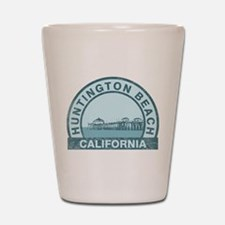 Huntington Beach, CA Shot Glass